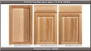 Oak  Cabinet Door Styles And Finishes Maryland Kitchen - Kitchen cabinets finish