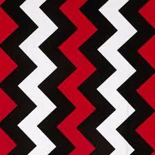 riley blake medium chevron red black discount designer fabric