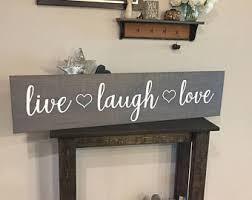 live laugh love etsy