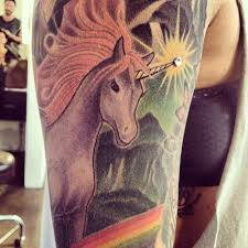 38 best scary unicorn tattoo images on pinterest scary unicorn