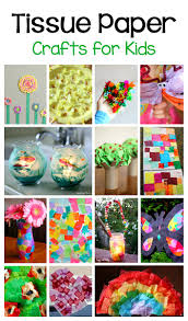 20 tissue paper crafts for kids buggy and buddy