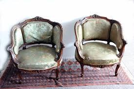 fauteuil ancien style anglais fauteuil bergère antiquites en france