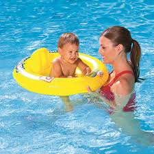 amazon com swim safe double ring baby seat inflatable pool float