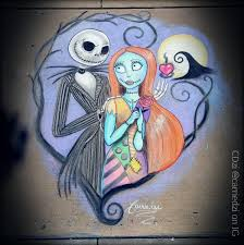 jack and sally sidewalkchalk 4x5 feet album on imgur