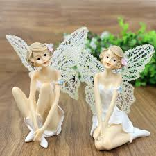 artificial figurines resin crafts miniature fairies