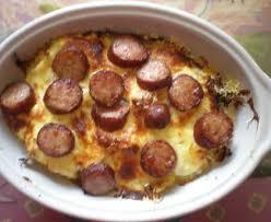 cuisiner saucisse de toulouse gratin de chou aux saucisses de toulouse recette de gratin de chou