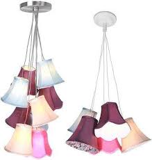 Purple Pendant Light 15 Photo Of Multi Coloured Pendant Lights