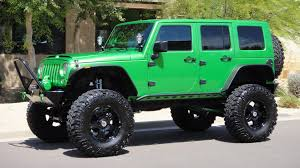 jeep unlimited green doetsch off road