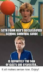 Meme Guide - seth from ned s declassified school survival guide is definitely