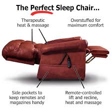 Armchairs Recliners The Perfect Sleep Chair Lift Chair Recliners