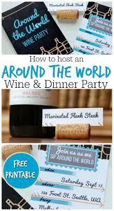 dinner ideas for an around the world theme them around the