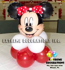 minnie mouse party supplies red and black minnie mouse balloon