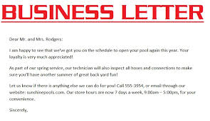 business letter exle 3000