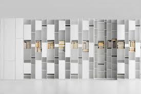 random random modular bookcase with a unique design mdf italia