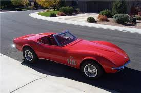 1969 convertible corvette 1969 chevrolet corvette convertible 138501
