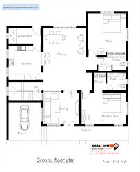 Home Design Plans Ground Floor 3d by Modern Ground Floor Plan And 3d Drawing Ideas Home Design
