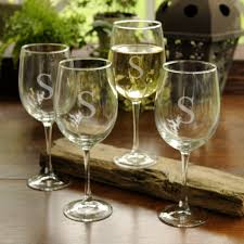 wine glass with initials home accessories monogram wine glasses engraved glassware
