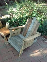 Rustic Patio Furniture by Outdoor Pallet Chair 101 Pallets