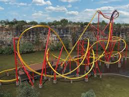 six flags unveils coaster
