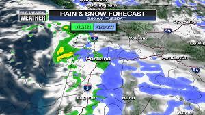 Snow Forecast Map Another Tough Snow Forecast Tuesday Night U0026 Wednesday Fox 12