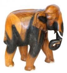 elephant ornaments carved range