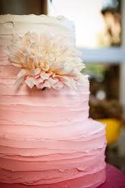 peach ombre wedding cake 12 fabulous ombre wedding cakes belle the magazine