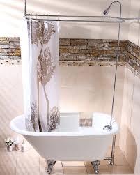 Clawfoot Tub Shower Curtain Liner Choosing A Shower Curtain For Your Clawfoot Tub Kingston Brass
