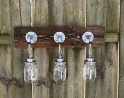Galvanized Vanity Light Vanity Light Fixture 2 Mason Jar Gems Light Fixture Wall