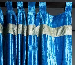 Turquoise Velvet Curtains Monsooncraft Com Buy Velvet Curtains Online