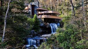 frank lloyd wright waterfall fallingwater house frank lloyd wright architect at age 67 flickr