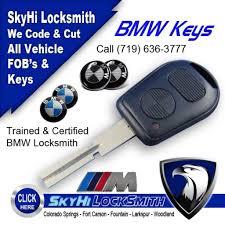 bmw key locksmith bmw key fob remotes call skyhi to code 719 636 3777