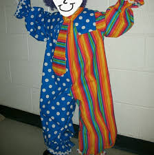 Kids Halloween Clown Costumes Unisex Kids Halloween Clown Costume Osb Krissy U0027s Closet