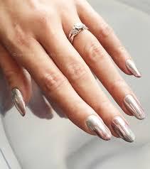 the mirror chrome gel manicure beautygeeks