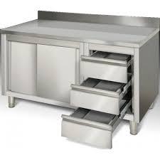 cuisine inox pas cher plan de travail inox pas cher maison design bahbe com
