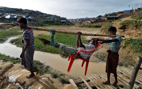 rohingya muslims flee ethnic violence in burma in pictures news