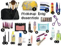 makeup bag essentials by fashionfreak45 liked on polyvore