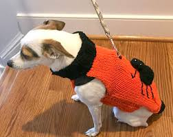 Spider Halloween Costume Dogs Knit Dog Costumes Etsy