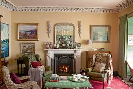 a georgian home filled with colour and antiques period living