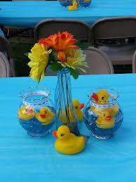 Rubber ducky centerpieces rubber ducky ideas