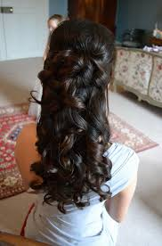 front and back views of hair styles half up half down hairstyles front and back view wedding