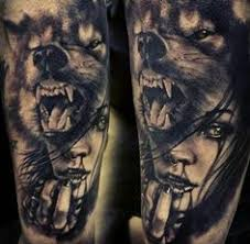 lovely lone wolf tattoos in different styles angry wolf wolf