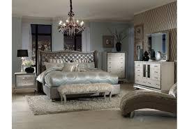 Aico Bed Aico Hollywood Swank N03000 Bedroom Collection