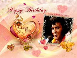elvis presley virtual birthday cards www iheartelvis net