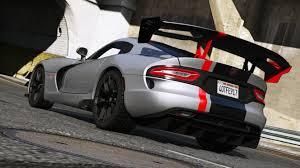 Dodge Viper 2014 - 2016 srt viper acr t a add on wipers gta5 mods com