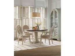 hooker furniture dining room sunset point pedestal dining table