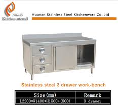Kitchen Cabinets Made In China by Modern Professional Cheap Restaurant 201 304 Stainless Steel