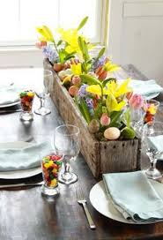 Easter Restaurant Decorations by Spring Decor Pinspiration Fresh Flowers Rabbit And Monograms