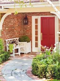 Bench By Front Door 35 Different Red Front Doors Many Designs U0026 Pictures