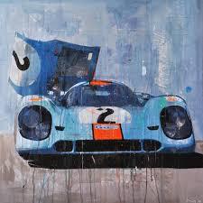 porsche 917 art automobile art by markus haub
