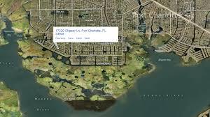 Port Charlotte Florida Map by Salt Waterfront Canal Land For Sale In Port Charlotte Florida